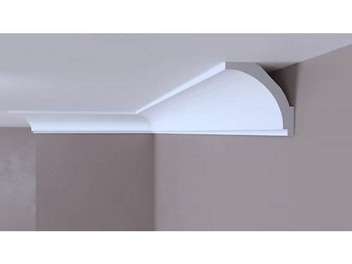 Cornisa decorativa alba din DUROTEC 50