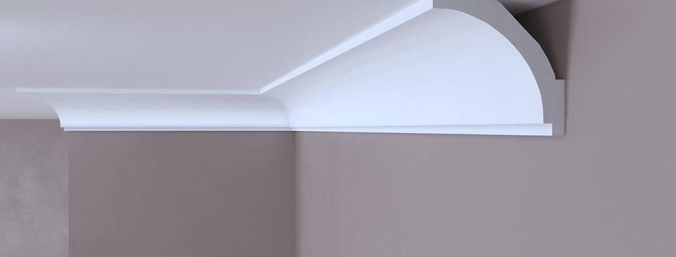 Cornisa decorativa alba din DUROTEC 50