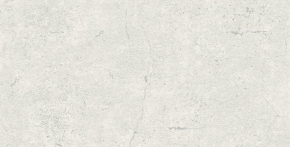 Tapet care imita betonul in nuante de alb si gri deschis