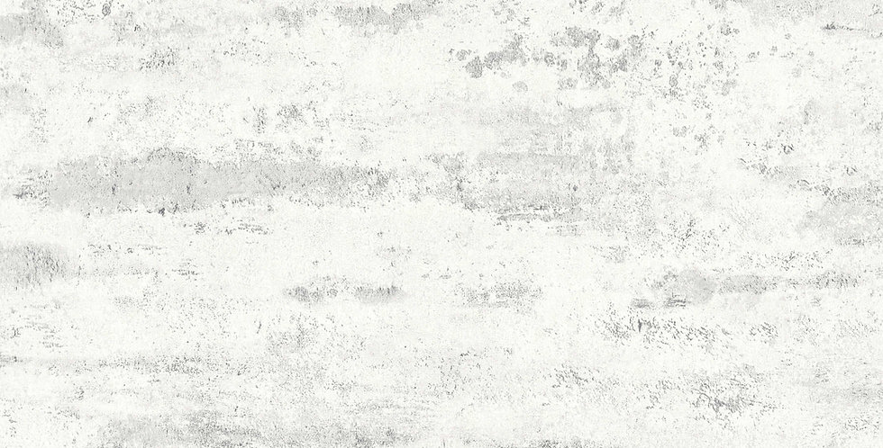 Tapet care imita vopsea decorativa in nuante alb si gri