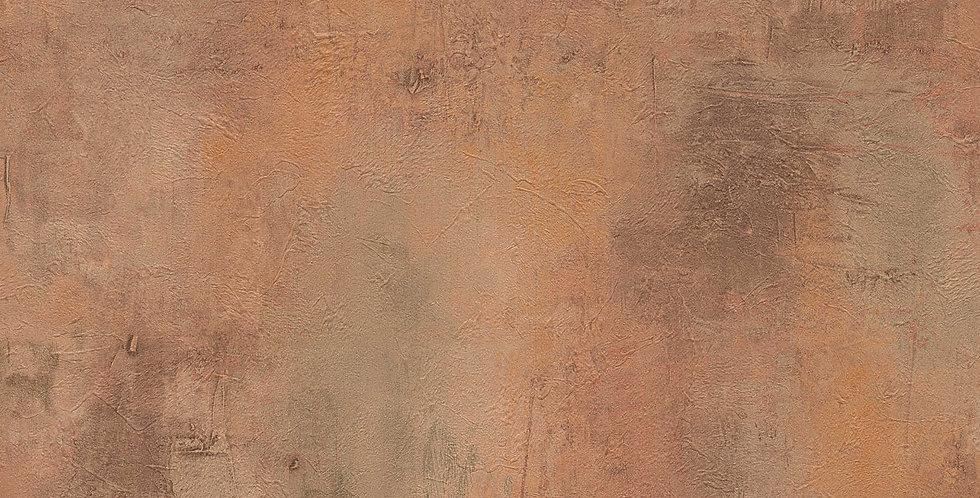 Tapet in stil modern imita cuprul in nuante de maro