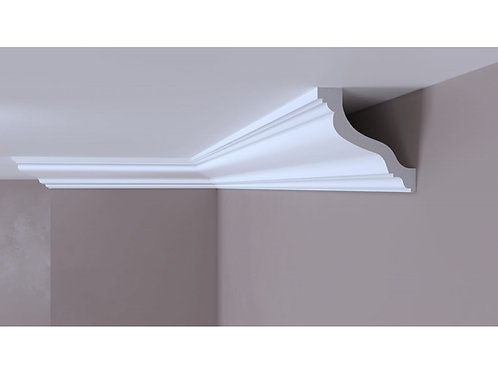 Cornisa decorativa alba din DUROTEC 57