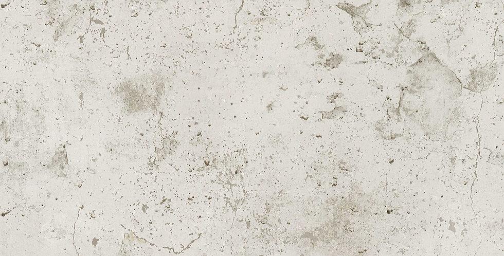 Tapet care imita betonul de culoare bej cu nuante gri deschis