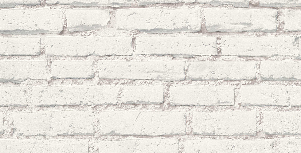 Tapet imitatie zidarie caramida alba
