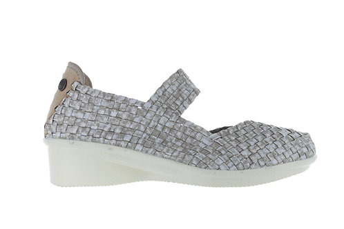 chaussure charm yael sand shimmer bernie mev