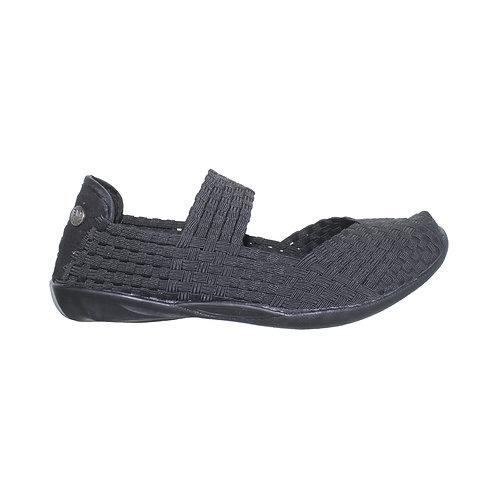 chaussure ballerine cuddly black noire bernie mev
