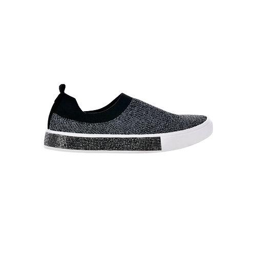 chaussure sparky black sliver bernie mev