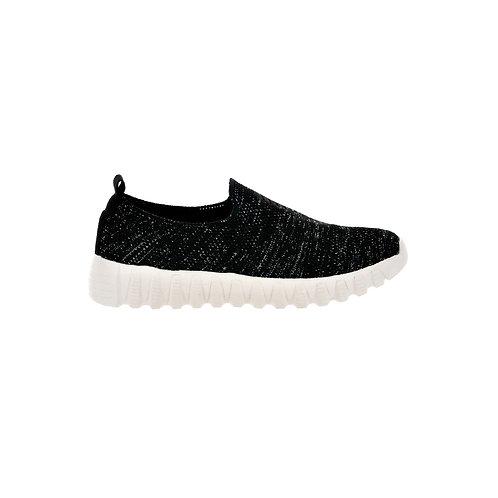 chaussure bernie mev litghning black shimmer côté droit