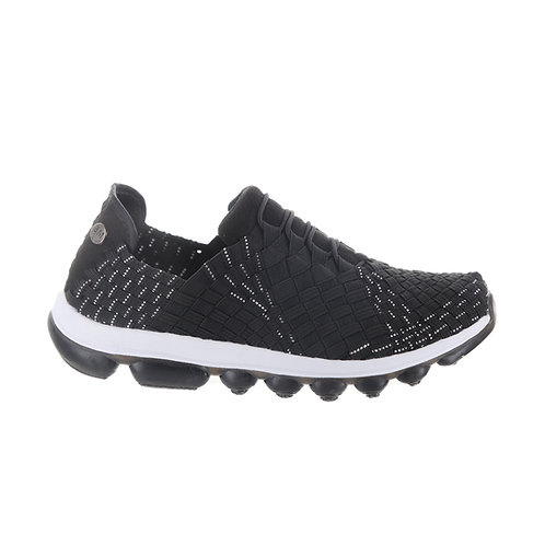 chaussure basket femme gummies victoria black silver bernie mev