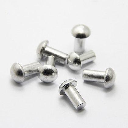 DIN 660. Заклепка стальная с головкой полукруглой формы под молоток