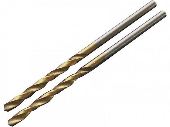 Сверло по металлу HSS титановое покрытие удлиненное
