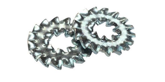 DIN 6798 DD Шайба стопорная с наружными и внутренними зубцами