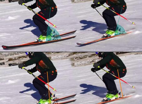 A japán síelés, a japán rövidlendületek: elöl, hátul vagy középhelyzet