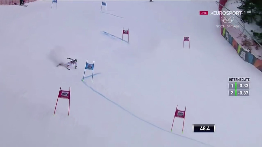 Marcel Hirscher - 1st and 2nd run - wins the giant slalom - Alta Badia, Italy - 12.17.2017-0.01.07.00