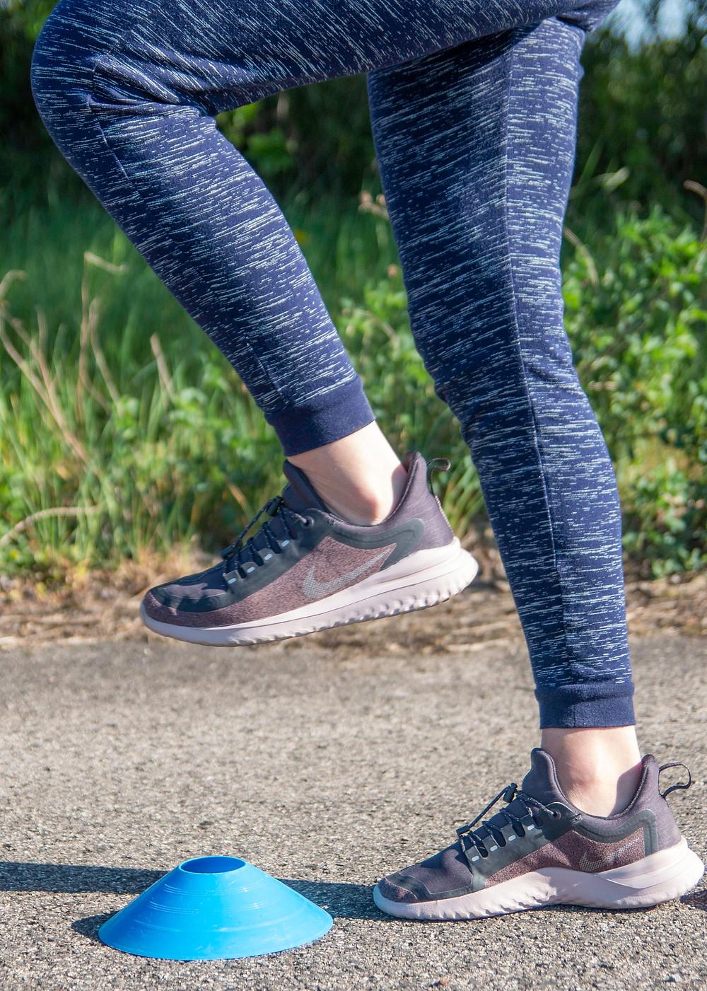 Lépés közben emeld a lábad