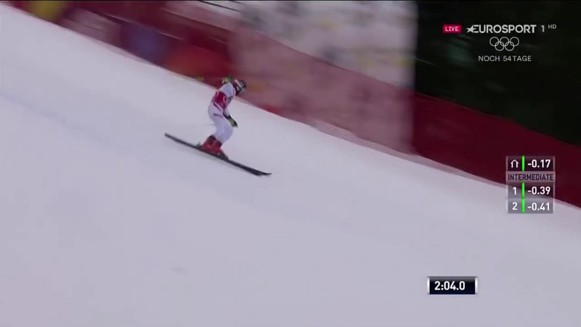 Marcel Hirscher - 1st and 2nd run - wins the giant slalom - Alta Badia, Italy - 12.17.2017-0.02.53.17