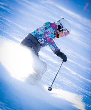 Evi síoktató / skiinstructor