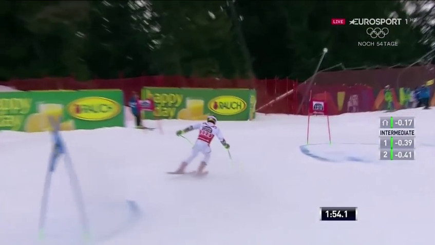 Marcel Hirscher - 1st and 2nd run - wins the giant slalom - Alta Badia, Italy - 12.17.2017-0.02.43.27