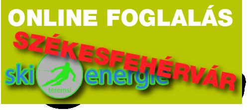 Skienergie Székesfehérvár online időpontfoglalás