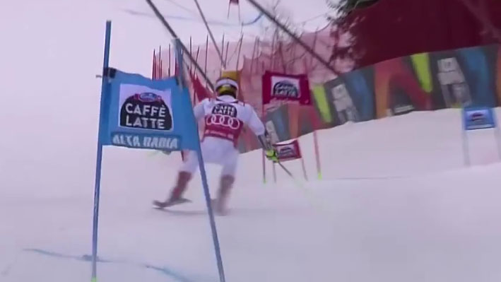 Marcel Hirscher - 1st and 2nd run - wins the giant slalom - Alta Badia, Italy - 12.17.2017-0.02.18.27