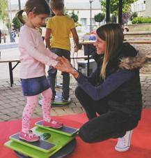 Síoktatás gyerekeknek - Szommer Evelin óvodapedagógus, síoktató