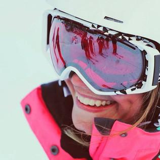 Szommer Evelin síoktató / skiinstructor