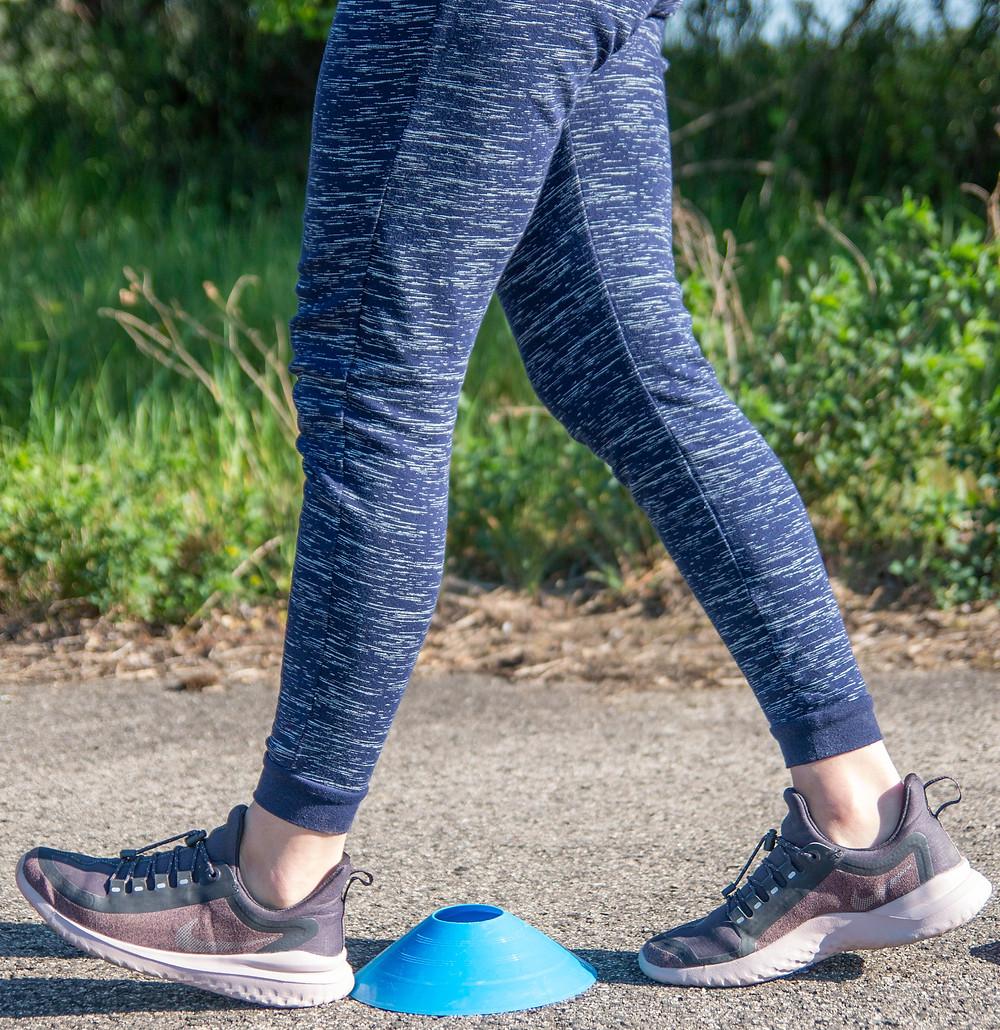 A lépés test előtti fázisa a fontos