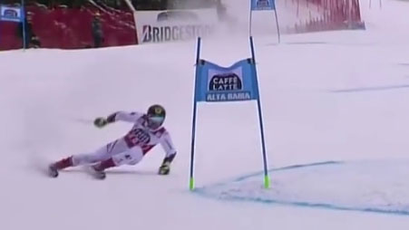 Marcel Hirscher - 1st and 2nd run - wins the giant slalom - Alta Badia, Italy - 12.17.2017-0.02.15.00