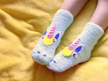 עשו זאת בעצמכם: נעלי בית חד-קרן