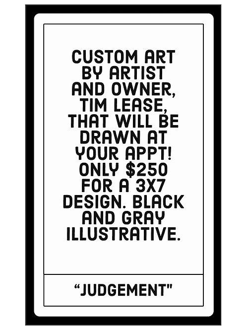 """Special Edition """"Judgement"""" Tarot Card Tattoo"""