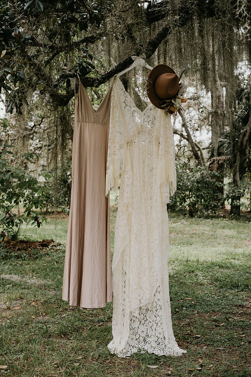 White Boho Dress Rental