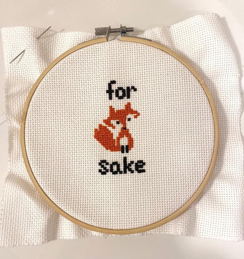 Inappropriate Cross Stitch Class