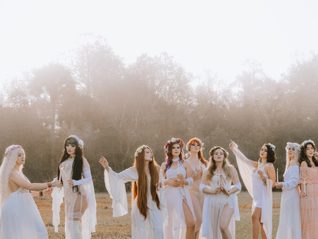 Celebrating the Spring Equinox with the Bad Witch Coven