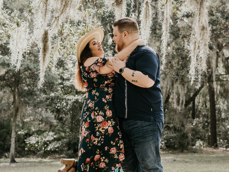 Engagement Session In The Dog Park, Matching Tattoos, and Mentoring A Young Photographer!