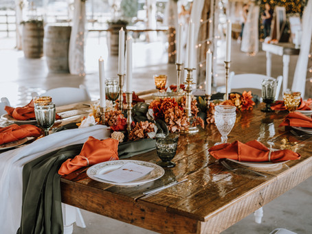 Boho Fall Micro Wedding