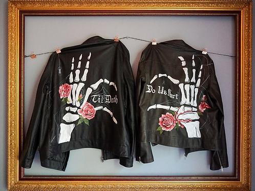 2 Custom Painted Jackets (I supply the jackets)