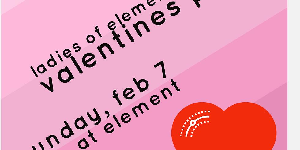 Ladies of Element Valentines Party