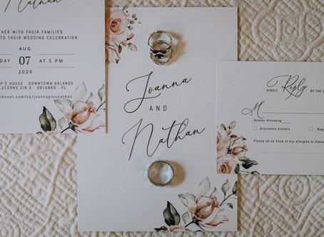 Elegant Wedding in Downtown Orlando