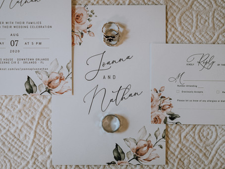 Elegant Wedding in Downtown Orlando