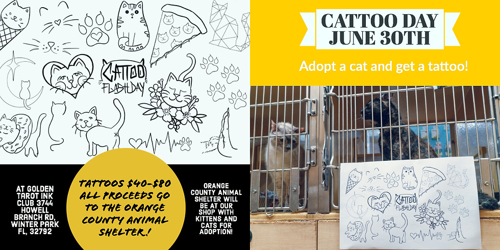 Cattoo Day!....details coming soon! Proceeds all donated!