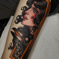 Golden Tarot Ink Club Winter Park Tattoo