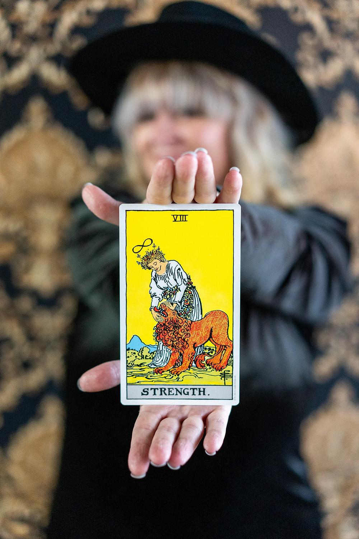 Tarot Card Tattoo