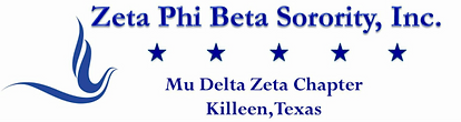 Zeta Phi Beta Sorority, Inc. Mu Delta Zeta Chapter