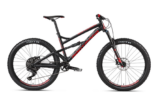 2021 Dartmoor Blackbird Intro - Gloss Black Devil 27.5