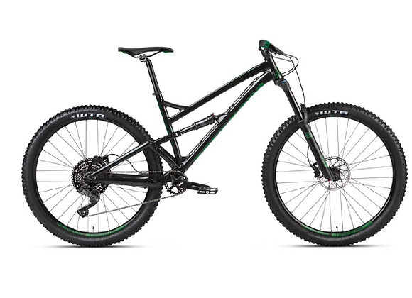 2021 Dartmoor Blackbird Intro - Glossy Black/Forest Green 29