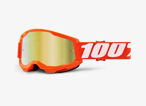 100% GOGGLES STRATA 2 - ORANGE