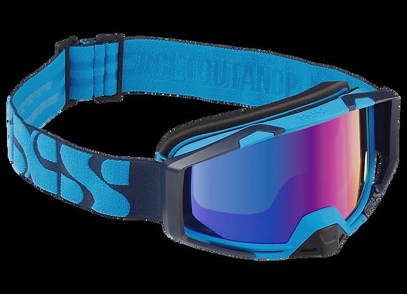 IXS TRIGGER GLASSES BLUE-COBALT MIRROR