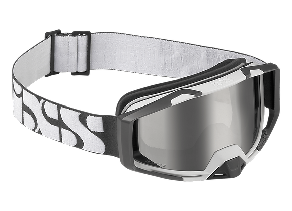 IXS TRIGGER GLASSES WHITE-SILVER MIRROR