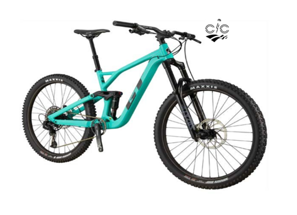 2021 GT FORCE COMP 27.5 GLOSS PITCH GREEN
