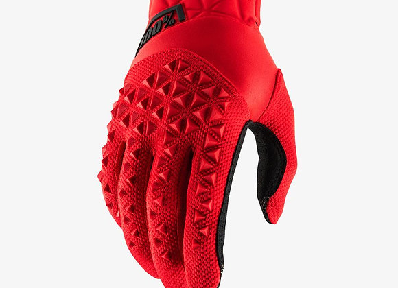 100% GLOVES AIRMATIC - RED/BLACK